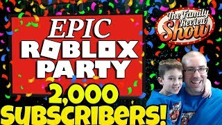 Martes Epic Roblox Party Stream 🎉 Aún celebrando 2.000 subs!!!