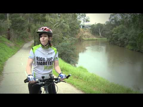 RACV Great Victorian Bike Ride 2010 - Charity Partner Diabetes Australia-Vic