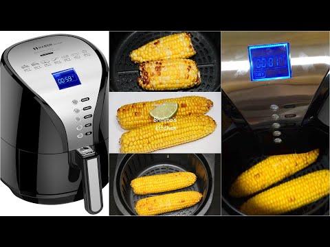 Air Fryer Corn on the Cobs Video Recipe