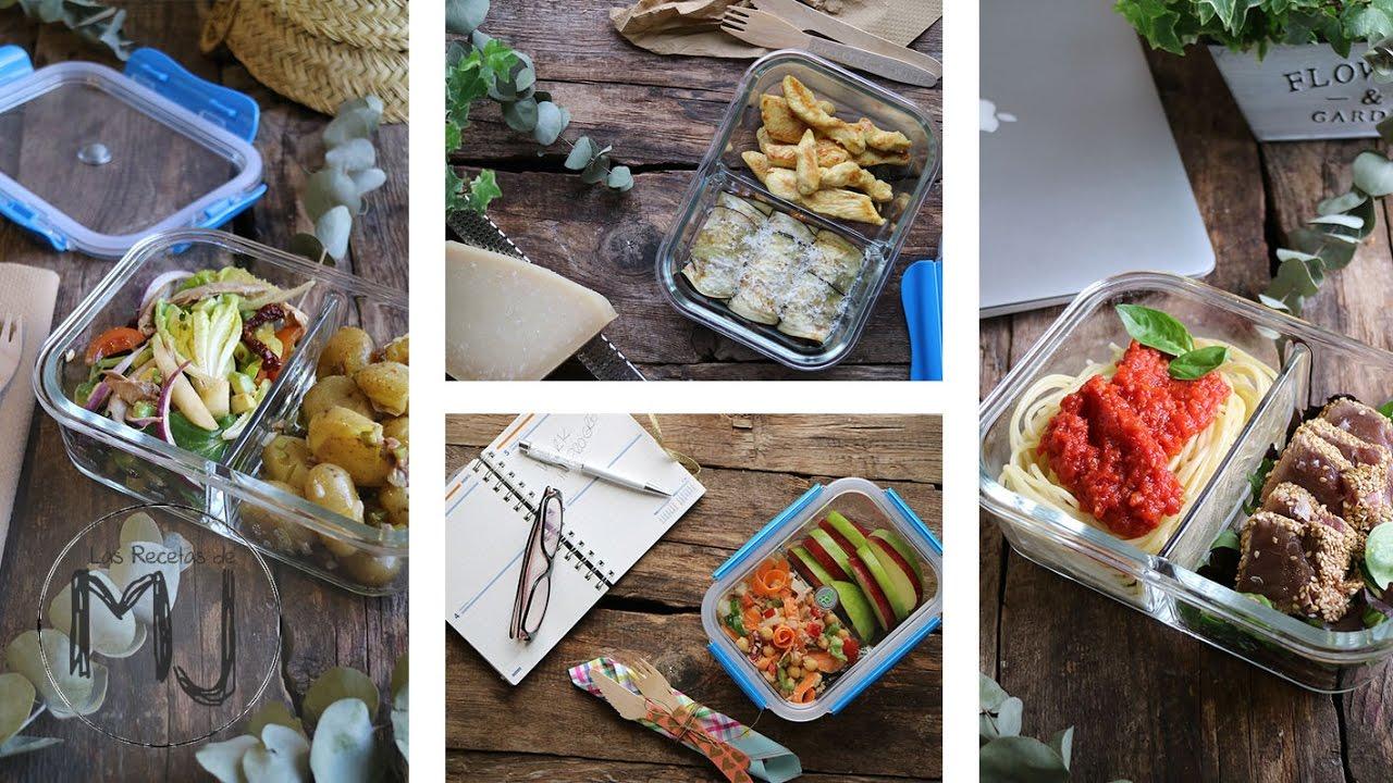 5 comidas para llevar f ciles saludables ricas y for Ideas de comidas faciles
