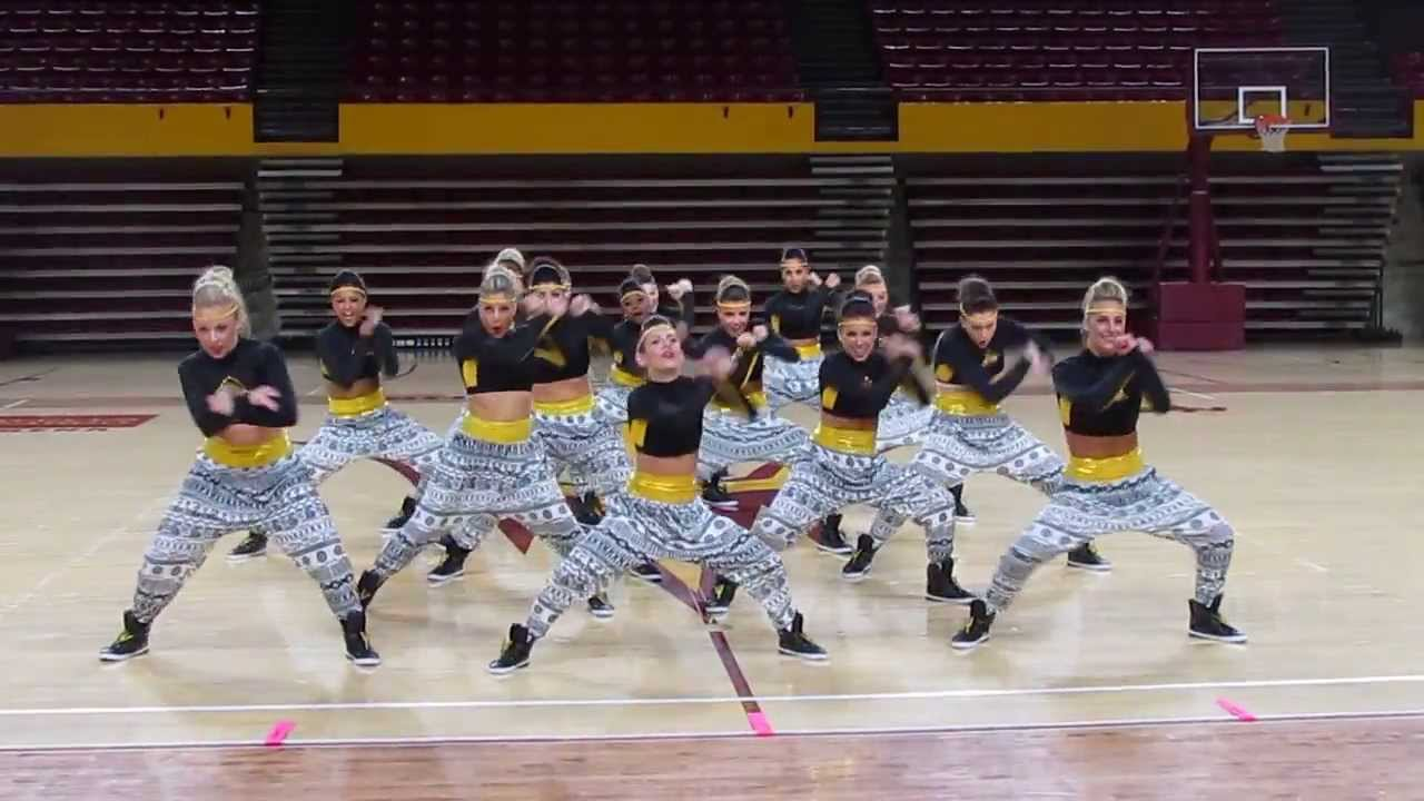 ASU Dance Team- Hip Hop 2014 - YouTube