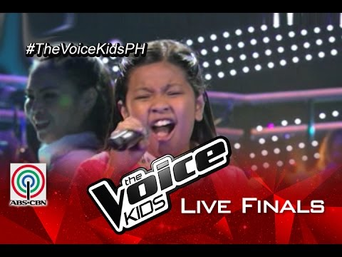 Elha Nympha sings 'Emotions' | Live Finals | The Voice Kids Philippines 2015