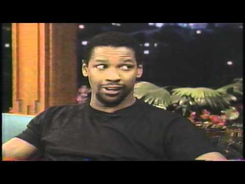 "Denzel Washington on ""The Tonight Show"" (1995)"