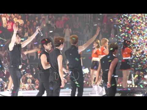 Shinhwa @ KCON LA 2015 - I Pray 4 U + Jam #1 + Ending