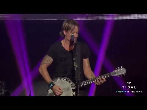 Keith Urban - Wasted Time - Live