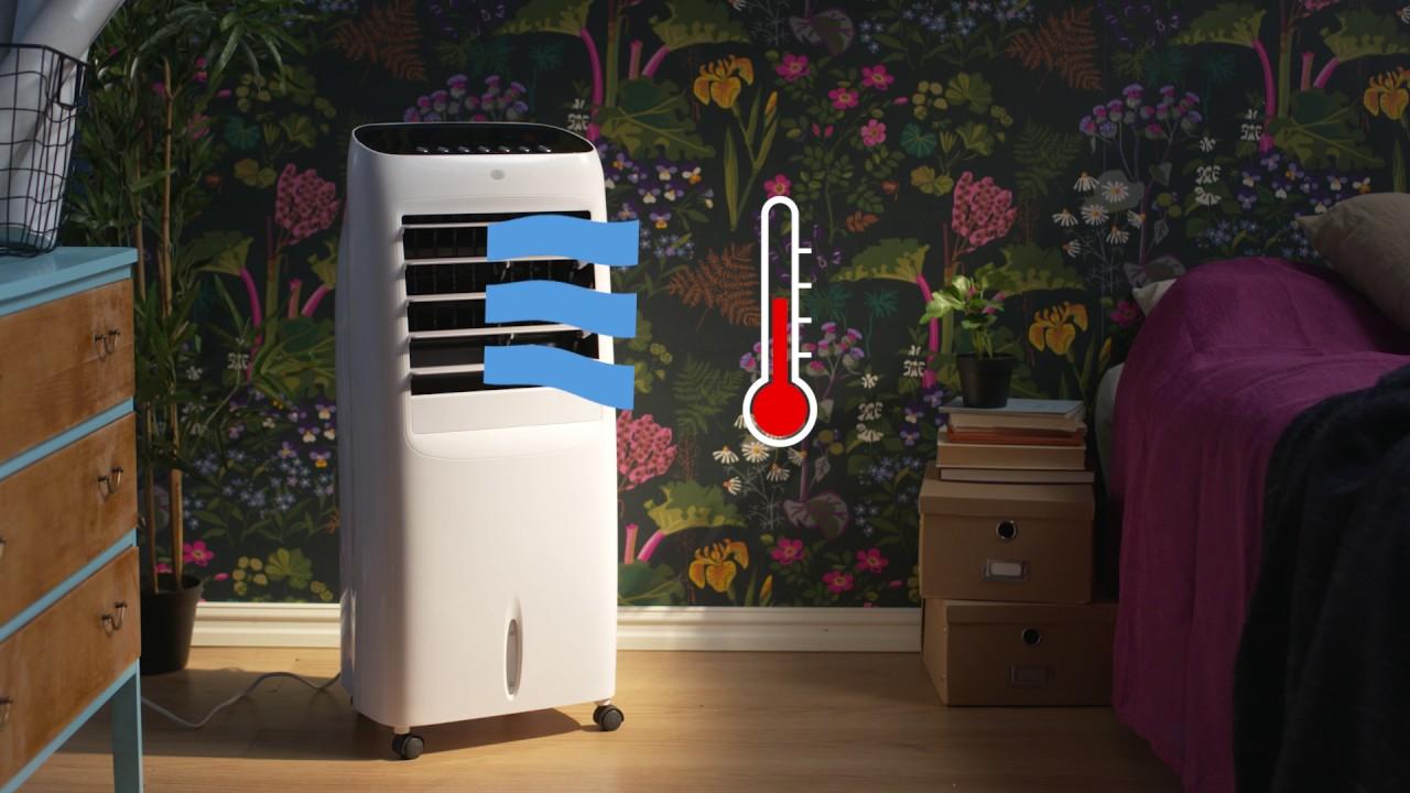 Fläkt med luftkylning | Clas Ohlson