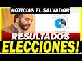 LISTA DE GANADORES ELECCIONES EL SALVADOR EN VIVO !