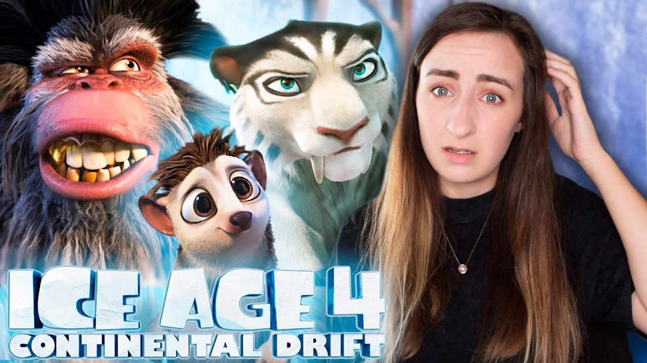 Download Watching *ICE AGE: CONTINENTAL DRIFT* for the FIRST Time (Movie Commentary & Reaction)