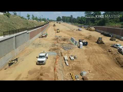 Interstate 40 Business Rebuild Project In Winston Salem