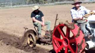 dangar gedye & mallock fordson f  plough restored to glory