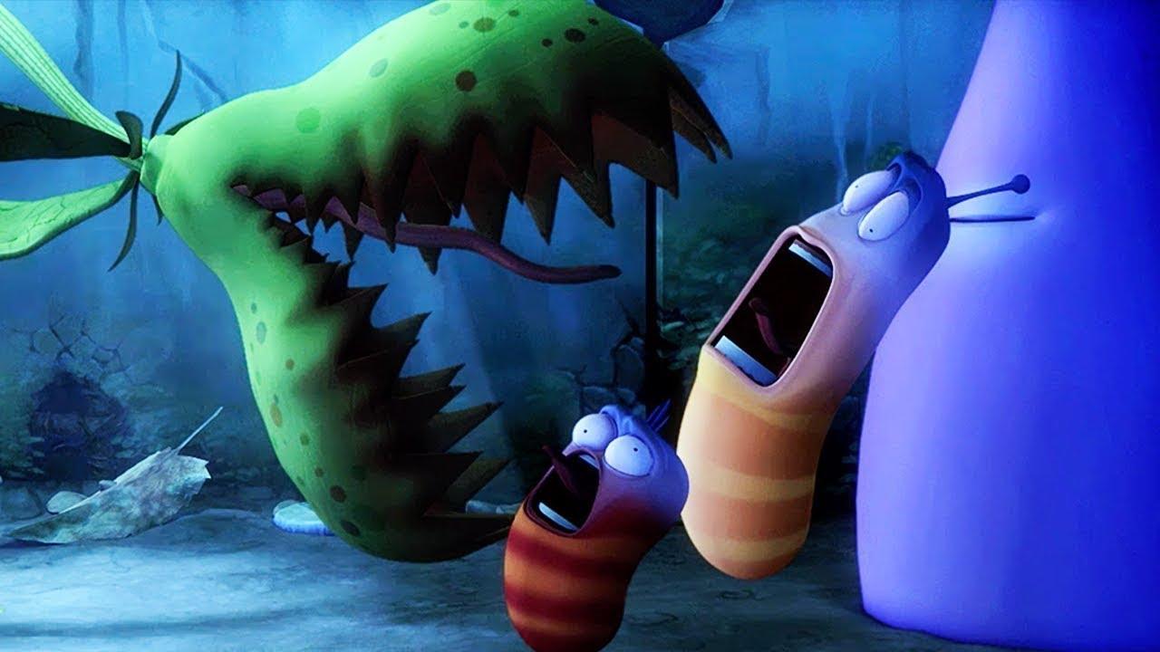 LARVA - EVIL PLANT | Cartoon Movie | Cartoons For Children | Larva Cartoon | LARVA Official