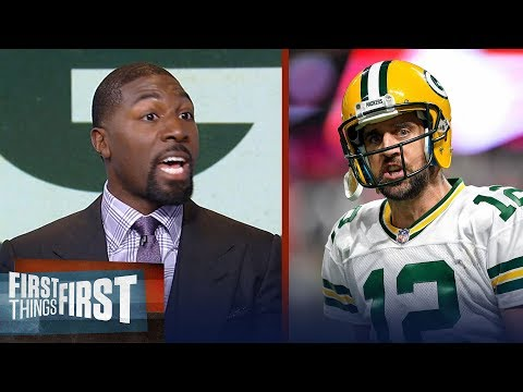 Greg Jennings on Aaron Rodgers' #FakeNews Tweet and his issues with Packers | FIRST THINGS FIRST