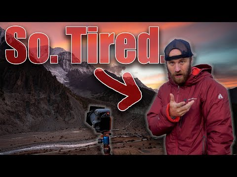Sleepless Photography In The Himalayas