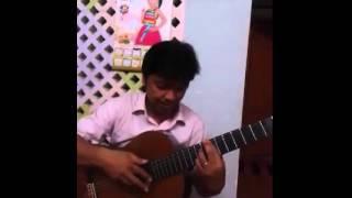Guitar solo Vũ Nữ Thân Gầy (La Cumparsita) - Thây Nguyễn Đăng Khoa
