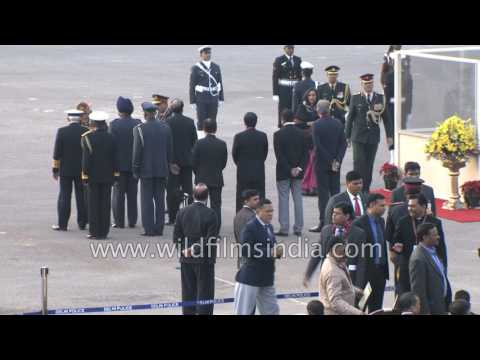 Prime Minister Narendra Modi arrives in massive BMW cavalcade with Z plus security