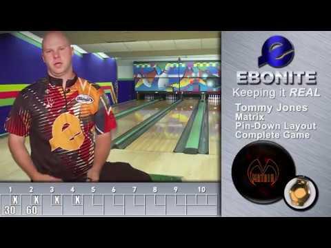 Ebonite Matrix | Tommy Jones Pin Down Layout