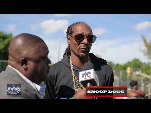 The Jeff Fox Show Talks to Snoop Dogg Snoop League vs Uncle Luke