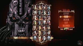 Mortal Kombat 9 Terminator