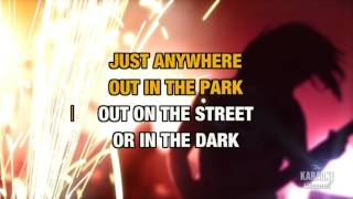 Love Is Strong In The Style Of The Rolling Stones Karaoke With Lyrics