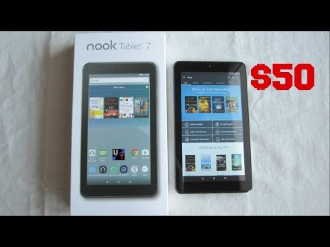 "Nook 7"" Tablet Unboxing & 1st Impressions! (Barnes & Nobles)"