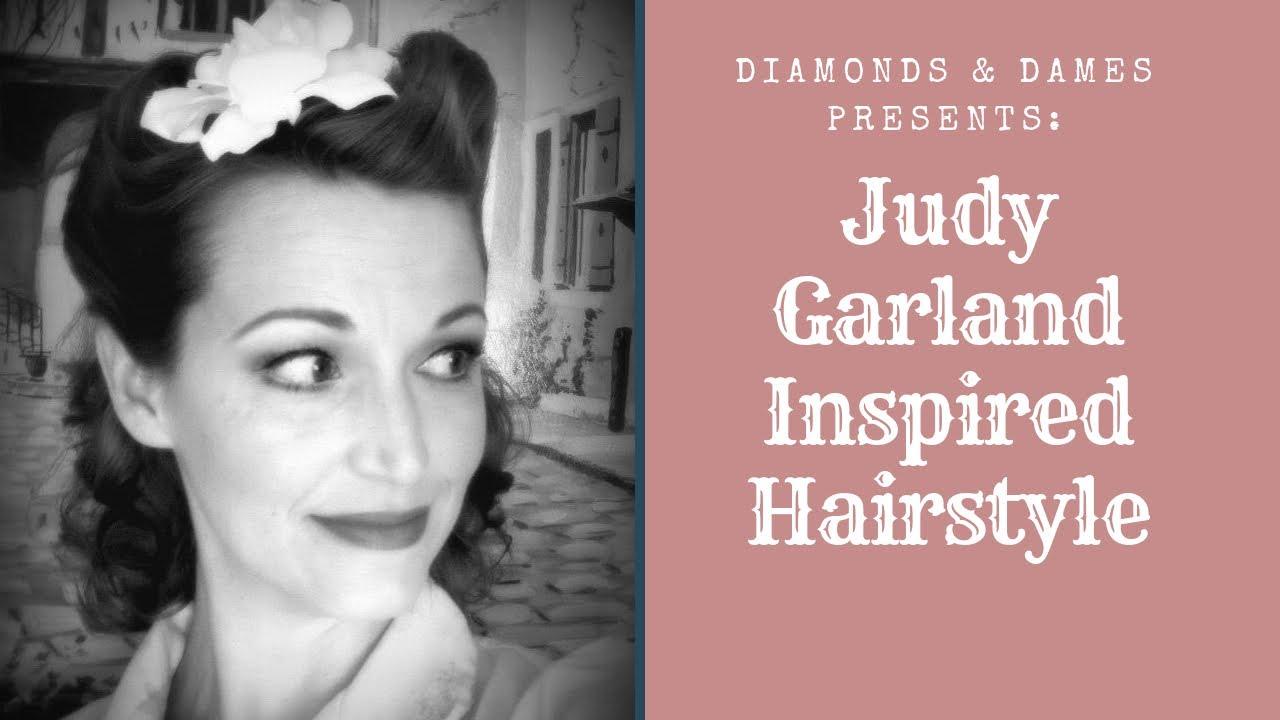 1945 Judy Garland Hairstyle