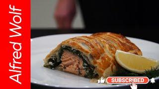 Праздничный рыбный пирог #pirog, #пирог, #рецепты, #простой пирог