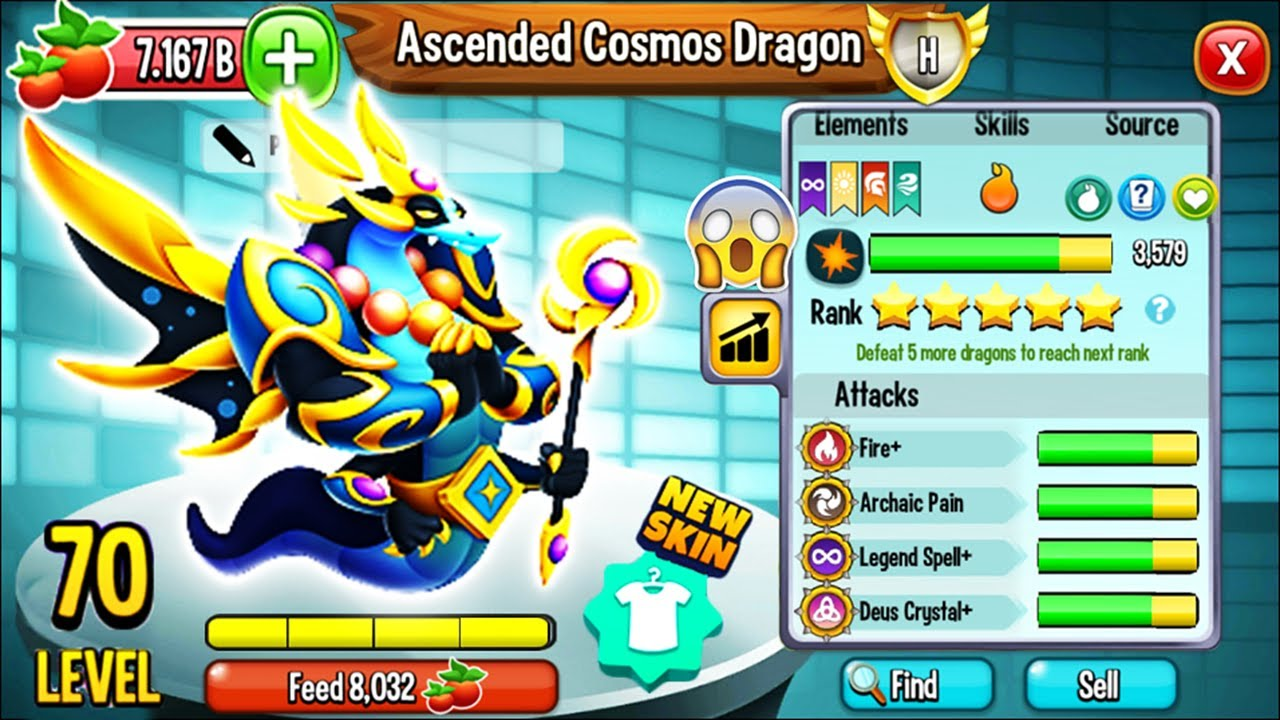 Download Dragon City: Hatching NEW Ascended Cosmos Dragon, the BEST DIVINE Pass Dragon 2021! 😱