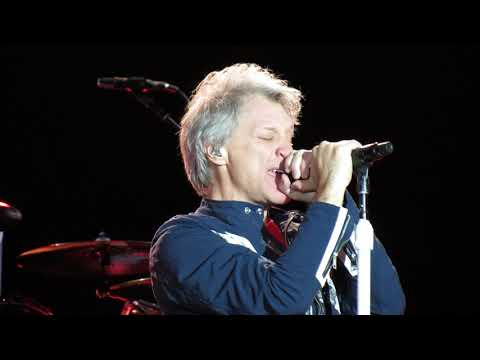 BON JOVI Bed Of Roses Live in Melbourne December 1st 2018
