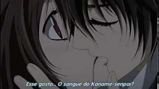 Beijo vampire knight guilty yuuki e kaname I don't own the music, t...