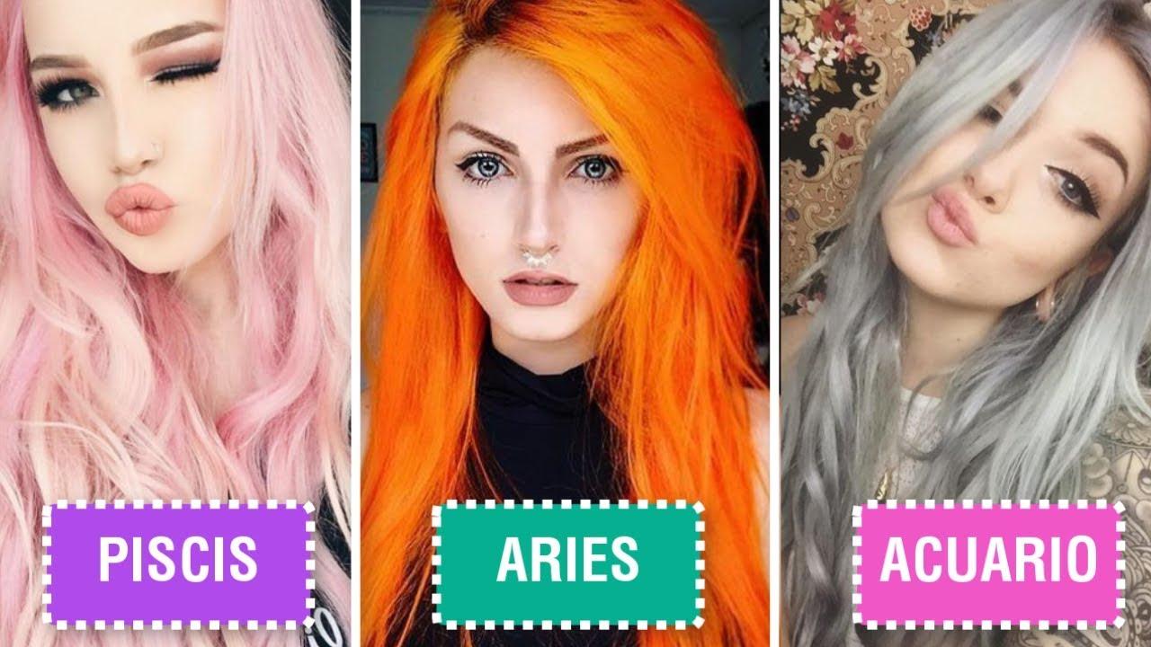 Test para saber que color de cabello me queda mujer