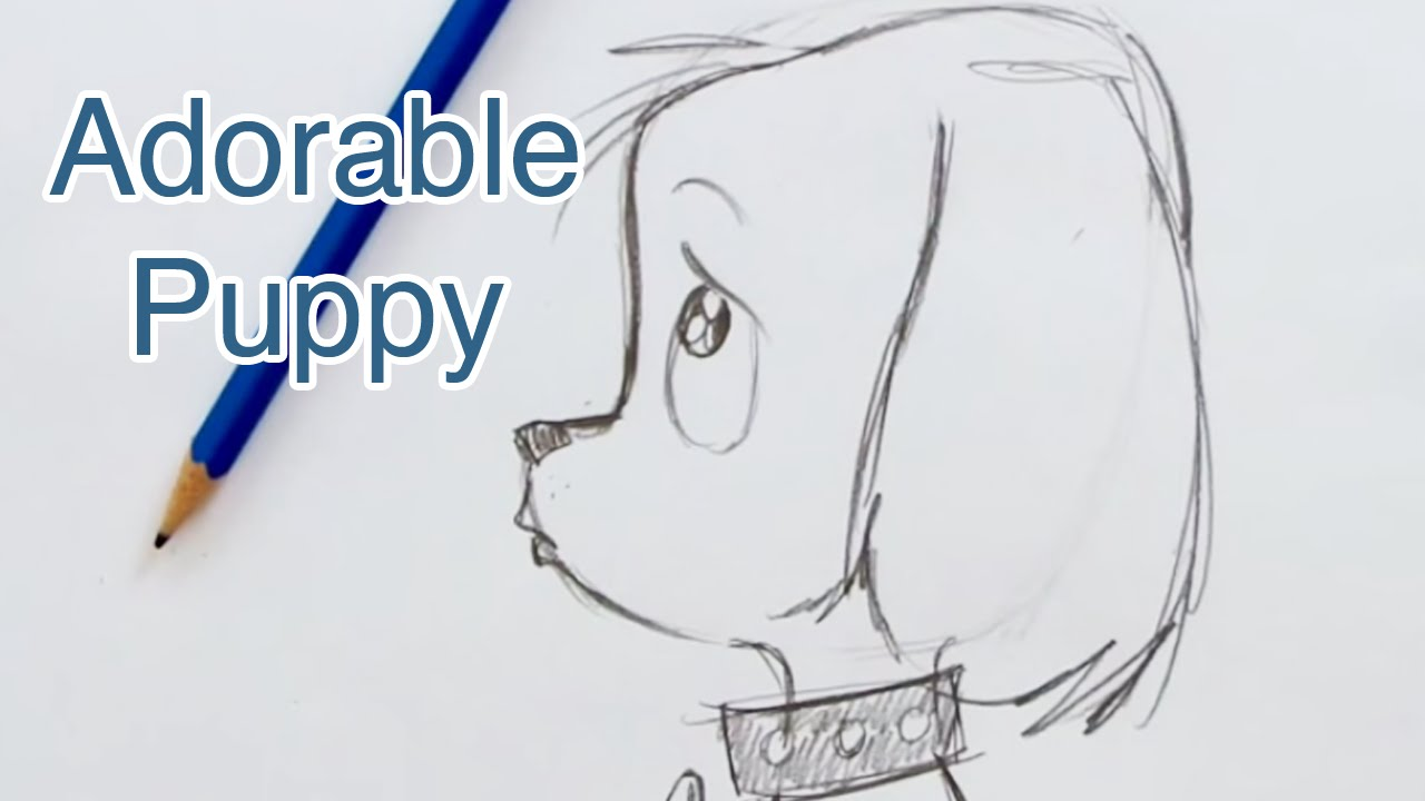 How to Draw a Super Cute Puppy (Step by Step)