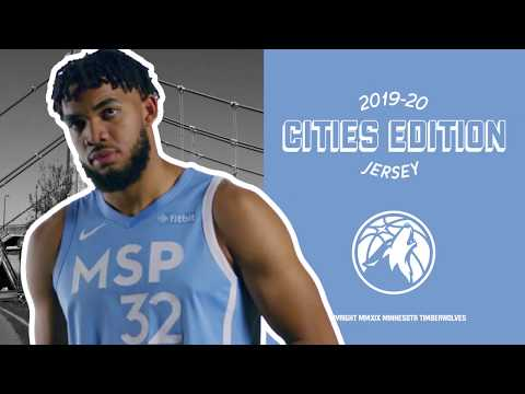 image for Timberwolves Unveil 2019 City Edition MSP Jerseys | KFAN 100.3 FM