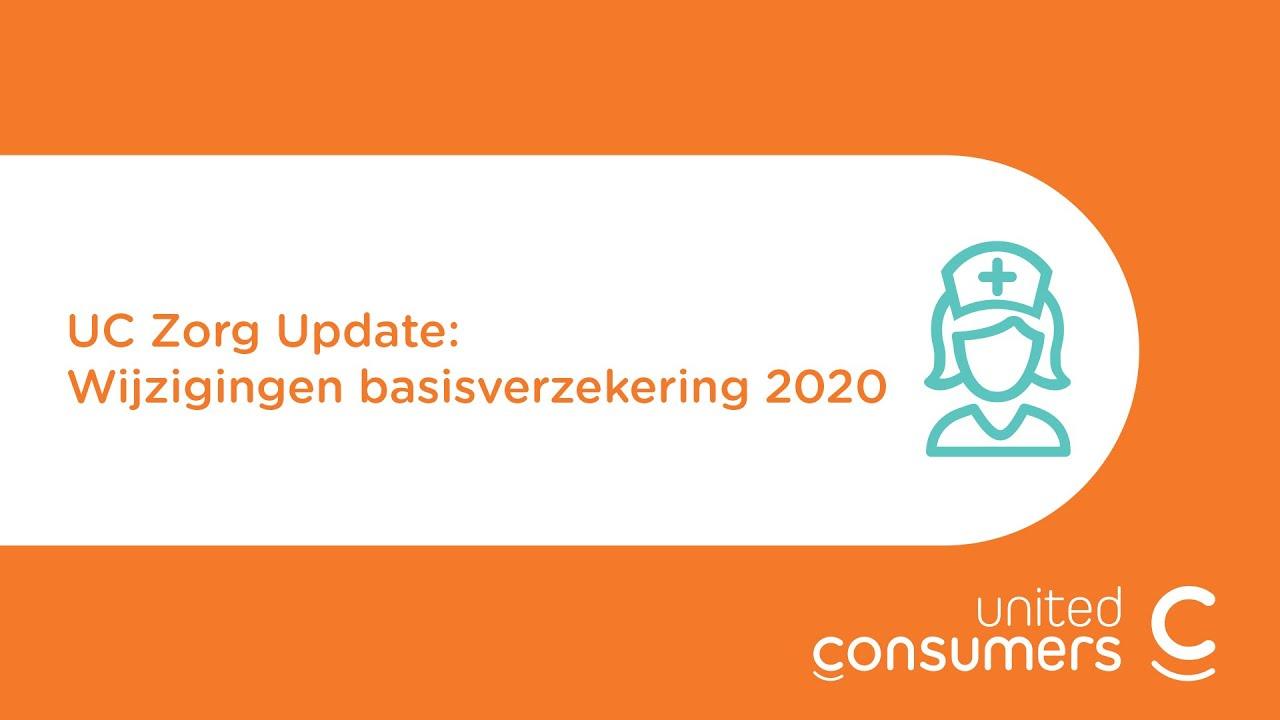 Zorgverzekering 2020 Uc