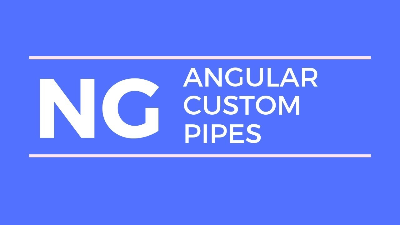 Angular Custom Pipes and How it works - Embark Code
