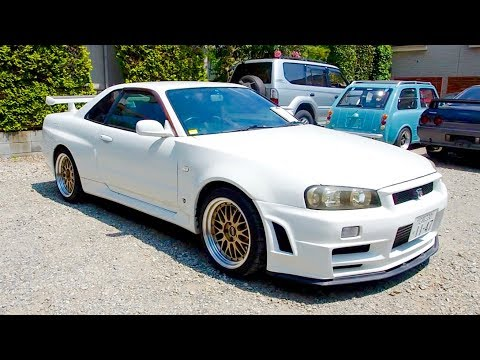 1999 Nissan Skyline R34 GT-R Z-TUNE Look **Big Turbo** Japan Auction Purchase Review