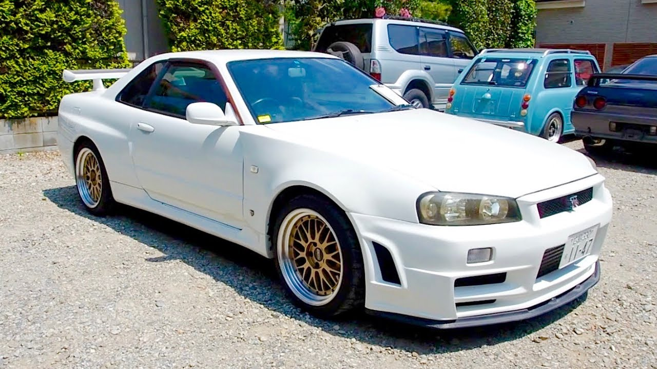 1999 Nissan Skyline R34 GT R Z TUNE Look **Big Turbo** Japan Auction  Purchase Review