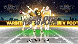 Section V Football Week 1 Top Plays (1-5)