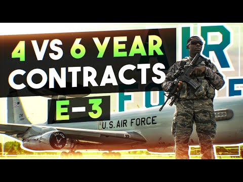 4 vs 6 year contracts - Joining as an E-3