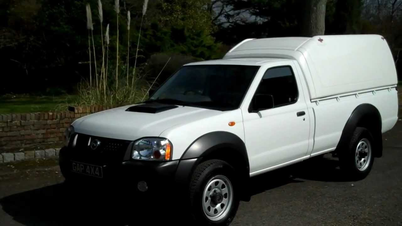 Nissan Frontier Diesel >> Nissan Navara 2 5 DCi NP300 Single Cab 2009 58 - YouTube