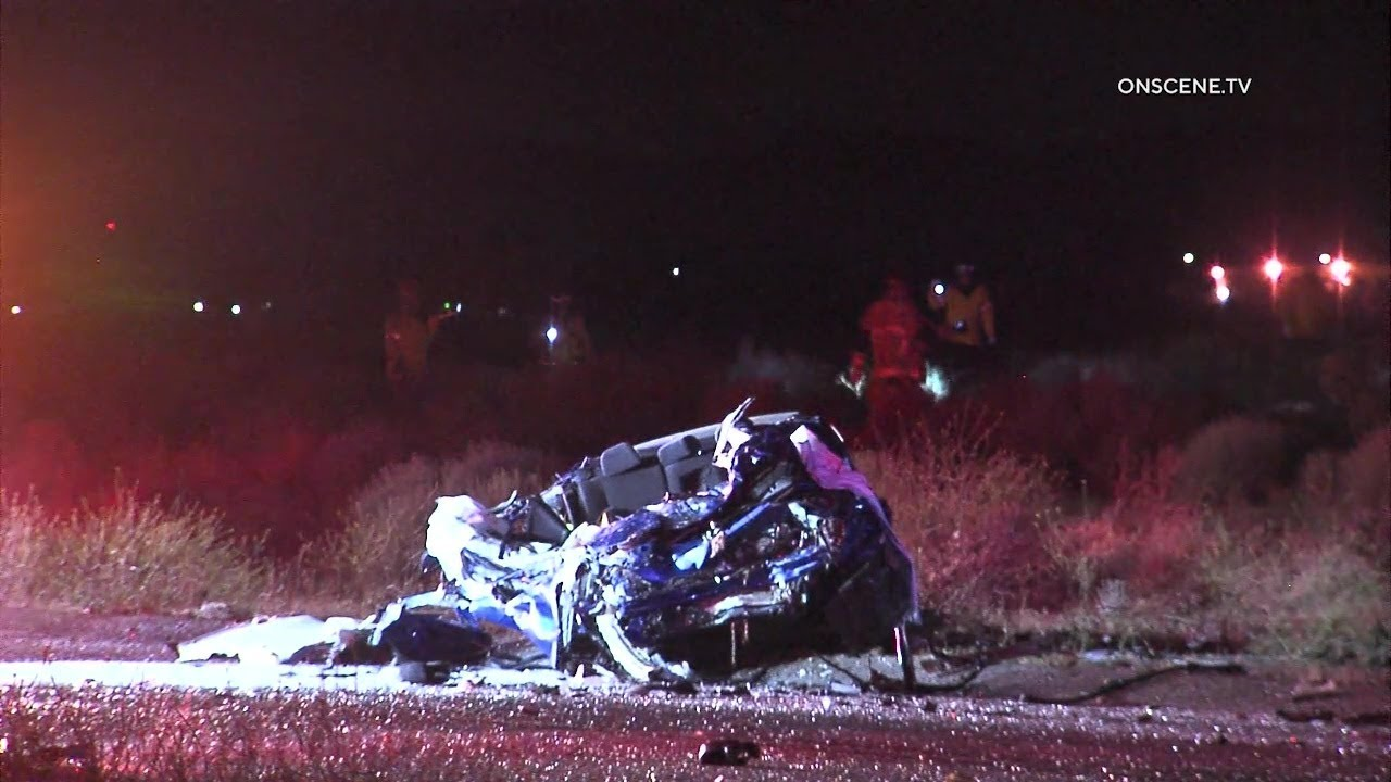 Download Major Crash Leaves At Least Four Dead In Hesperia