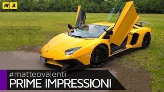 Lamborghini Aventador SV | Prime impressioni