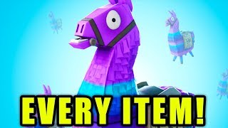 SUPPLY LLAMAS: ALL LOOT YOU CAN GET! (Fortnite Battle Royale)