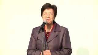 東華三院馮黃鳳亭中學 2012-13年度 中六昔別早會 校長