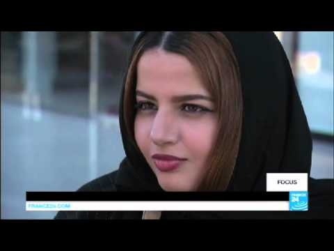 Saudi teenage girls break the law by hanging out in the street