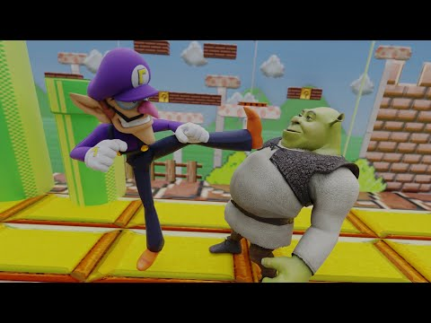 Smash Bros Ultimate Dlc Leak Shrek And Waluigi Confirmed