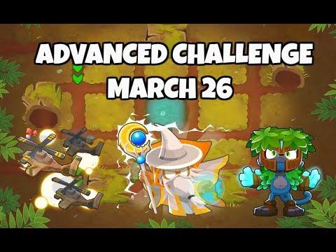 BTD6 Advanced Challenge - Half Chimps - March 26 2019