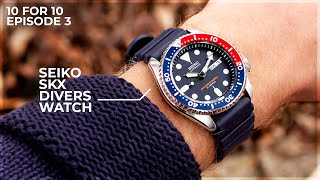 Why The Seiko SKX is The Go To Beater Watch - The Seiko SKX009J1 Review: 10 for 10 by WatchGecko