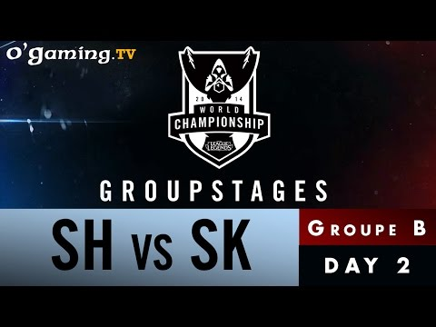 World Championship 2014 - Groupstages - Groupe B - SH vs SK