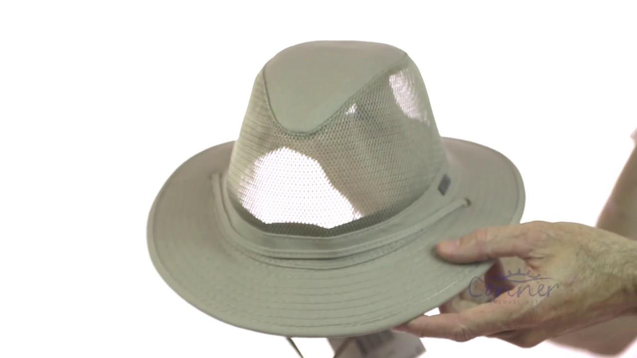 69c9b85312 Pueblo Men's Mesh Cotton Fedora | Conner Hats
