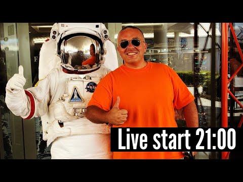 Pooglądajmy Razem Start Rakiety NASA I SpaceX